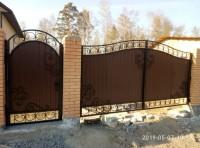Ворота 4х2.10 калитка 1.16х2,10  55.000 руб с замк