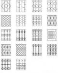 Кованые и сварные  решетки